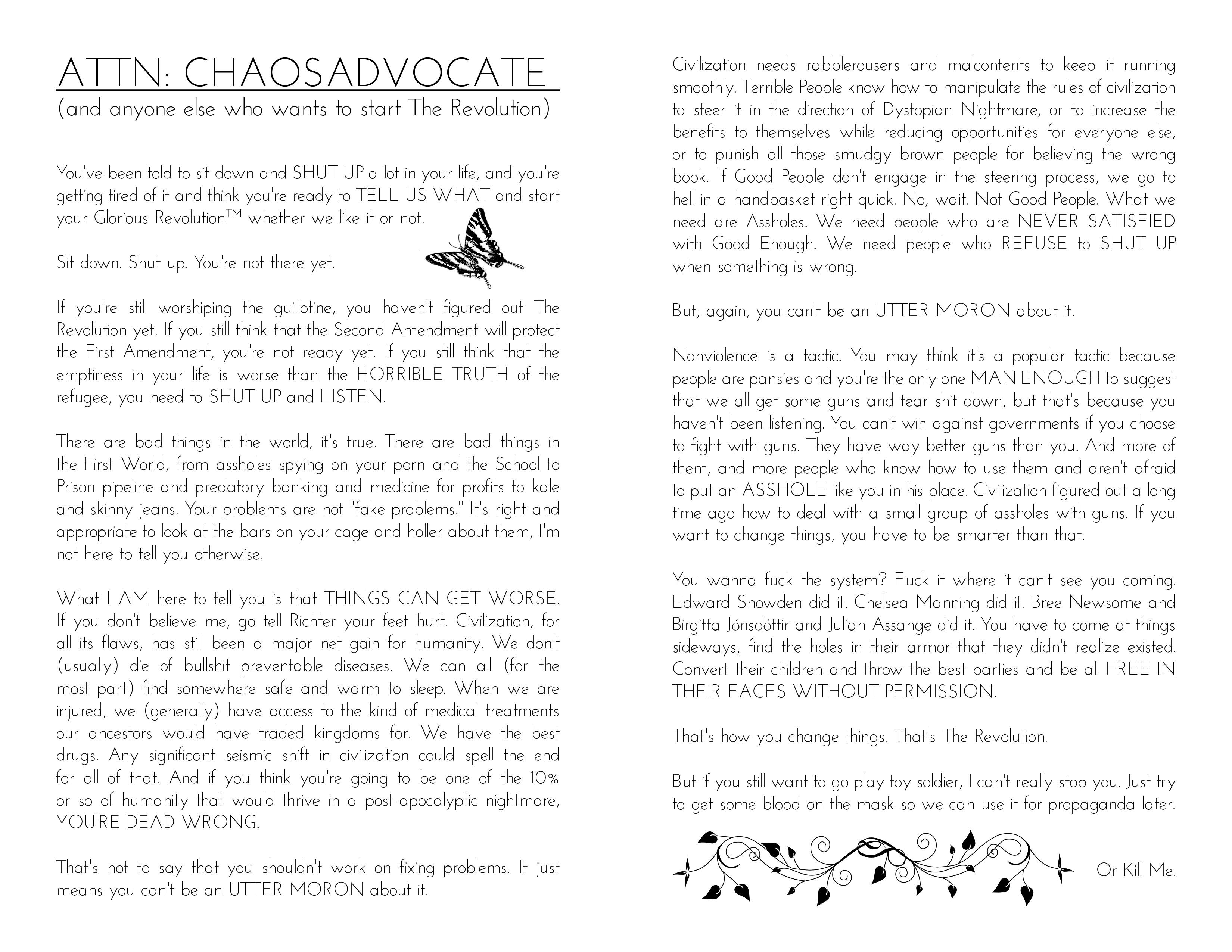 Attn: ChaosAdvocate