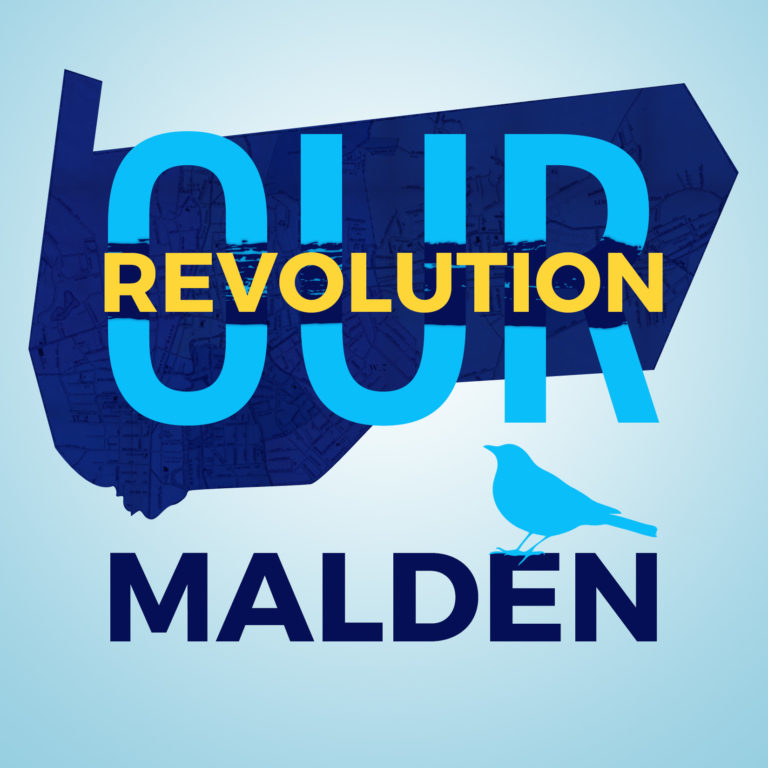 Logo for Our Revolution Malden